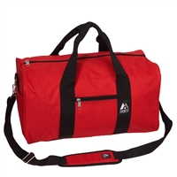 #1008D-RED Wholesale 19-inch Duffel Bag - Case of 30 Duffel Bags