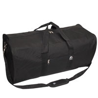 #1008LD-BLACK Wholesale 30-inch Duffel Bag - Case of 30 Duffel Bags