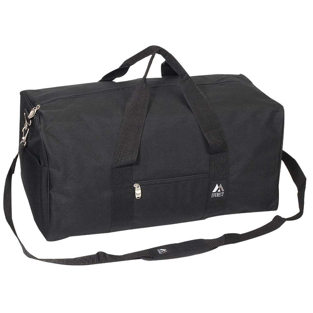 4233ed99398e  1008MD-BLACK Wholesale 24-inch Duffel Bag - Case of 30