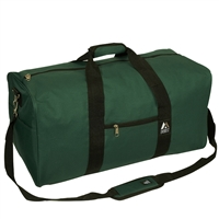 #1008MD-GREEN Wholesale 24-inch Duffel Bag - Case of 30
