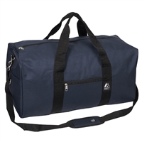 #1008MD-NAVY Wholesale 24-inch Duffel Bag - Case of 30 Duffel Bags