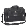 "#1015-BLACK Wholesale 17.5"" Gear Duffel Bag - Case of 20"