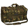 #1027-CAMO Wholesale 27-inch Woodland Camo Duffel Bag - Case of 10