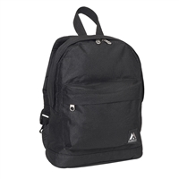 #10452-BLACK Wholesale Mini Kids Backpack - Case of 30 Backpacks