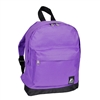 #10452-DARK PURPLE Wholesale Mini Kids Backpack - Case of 30