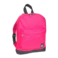 #10452-HOT PINK Wholesale Mini Kids Backpack - Case of 30 Backpacks