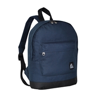 #10452-NAVY Wholesale Mini Kids Backpack - Case of 30 Backpacks