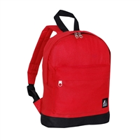 #10452-RED Wholesale Mini Kids Backpack - Case of 30 Backpacks