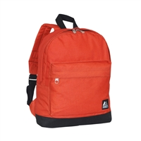 #10452-RUST ORANGE Wholesale Mini Kids Backpack - Case of 30 Backpacks