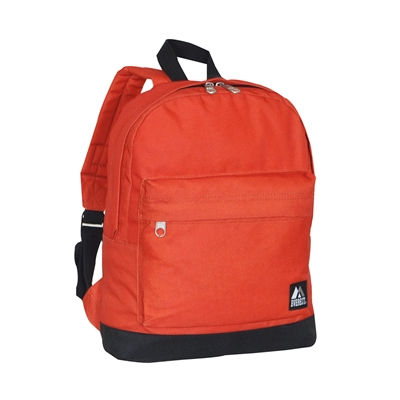 #10452-RUST ORANGE Wholesale Mini Kids Backpack - Case of 30