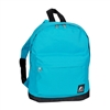 #10452-TURQUOISE Wholesale Mini Kids Backpack - Case of 30 Backpacks