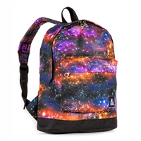 #10452P-GALAXY Wholesale Mini Kids Backpack - Case of 30 Backpacks
