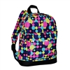 #10452P-MULTI DOT Wholesale Mini Kids Backpack - Case of 30 Backpacks