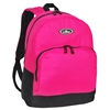 #1045A-HOT PINK Wholesale Backpack with Front Organizer - Case of 30
