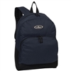 #1045A-NAVY Wholesale Backpack with Front Organizer - Case of 30 Backpacks