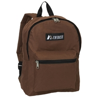 #1045K-BROWN Wholesale Backpack - Case of 30