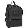 #1045K-CHARCOAL Wholesale Basic Backpack - Case of 30 Backpacks