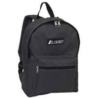 #1045K-CHARCOAL Wholesale Backpack - Case of 30