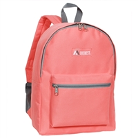 #1045K-CORAL Wholesale Backpack - Case of 30