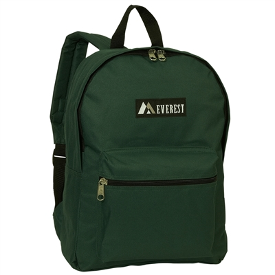 #1045K-DARK GREEN Wholesale Backpack - Case of 30