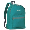 #1045K-DARK TEAL Wholesale Basic Backpack - Case of 30 Backpacks