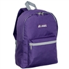 #1045K-EGGPLANT Wholesale Basic Backpack - Case of 30 Backpacks