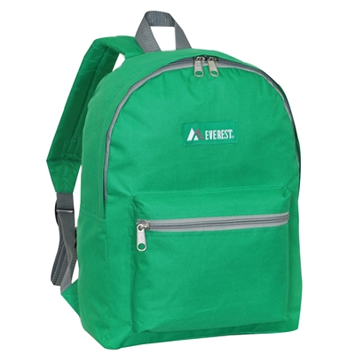 #1045K-EMERALD GREEN Wholesale Backpack - Case of 30