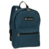 #1045K-FUSCHIA BLUE Wholesale Basic Backpack - Case of 30 Backpacks
