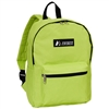 #1045K-LIME Wholesale Basic Backpack - Case of 30 Backpacks