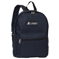 #1045K-NAVY Wholesale Basic Backpack - Case of 30 Backpacks