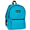 #1045K-TURQUOISE Wholesale Basic Backpack - Case of 30 Backpacks