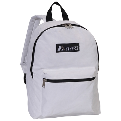 #1045K-WHITE Wholesale Backpack - Case of 30
