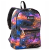 #1045KP-GALAXY Wholesale Basic Pattern Backpack - Case of 30 Backpacks