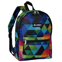 #1045KP-PRISM Wholesale Basic Pattern Backpack - Case of 30 Backpacks