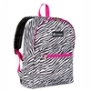 #1045KP-ZEBRA Wholesale Basic Pattern Backpack - Case of 30 Backpacks