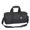 #16P-BLACK Wholesale 16-inch Round Duffel Bag - Case of 40 Duffel Bags