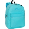 #2045CR-AQUA Wholesale Classic Backpack - Case of 30 Backpacks