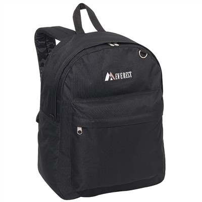 #2045CR-BLACK Wholesale Classic Backpack - Case of 30 Backpacks