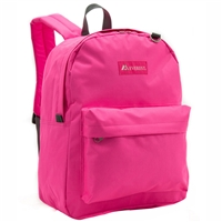 #2045CR-CANDY PINK Wholesale Classic Backpack - Case of 30 Backpacks