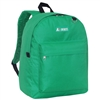 #2045CR-EMERALD GREEN Wholesale Classic Backpack - Case of 30 Backpacks
