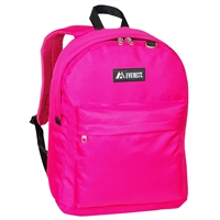#2045CR-HOT PINK Wholesale Classic Backpack - Case of 30 Backpacks