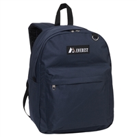 #2045CR-NAVY Wholesale Classic Backpack - Case of 30 Backpacks