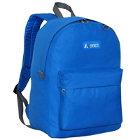 #2045CR-ROYAL BLUE Wholesale Classic Backpack - Case of 30 Backpacks
