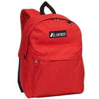 #2045CR-RED Wholesale Classic Backpack - Case of 30 Backpacks