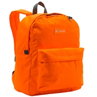 #2045CR-TANGERINE Wholesale Classic Backpack - Case of 30 Backpacks