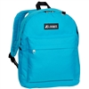 #2045CR-TURQUOISE Wholesale Classic Backpack - Case of 30 Backpacks