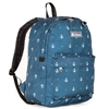 #2045P-ANCHOR Wholesale Classic Pattern Backpack - Case of 30 Backpacks