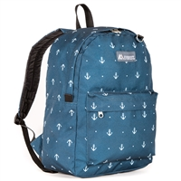 #2045P-ANCHOR Wholesale Classic Pattern Backpack - Case of 30