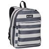 #2045P-STRIPES Wholesale Classic Pattern Backpack - Case of 30