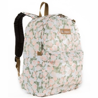 #2045P-VINTAGE FLORAL Wholesale Classic Pattern Backpack - Case of 30